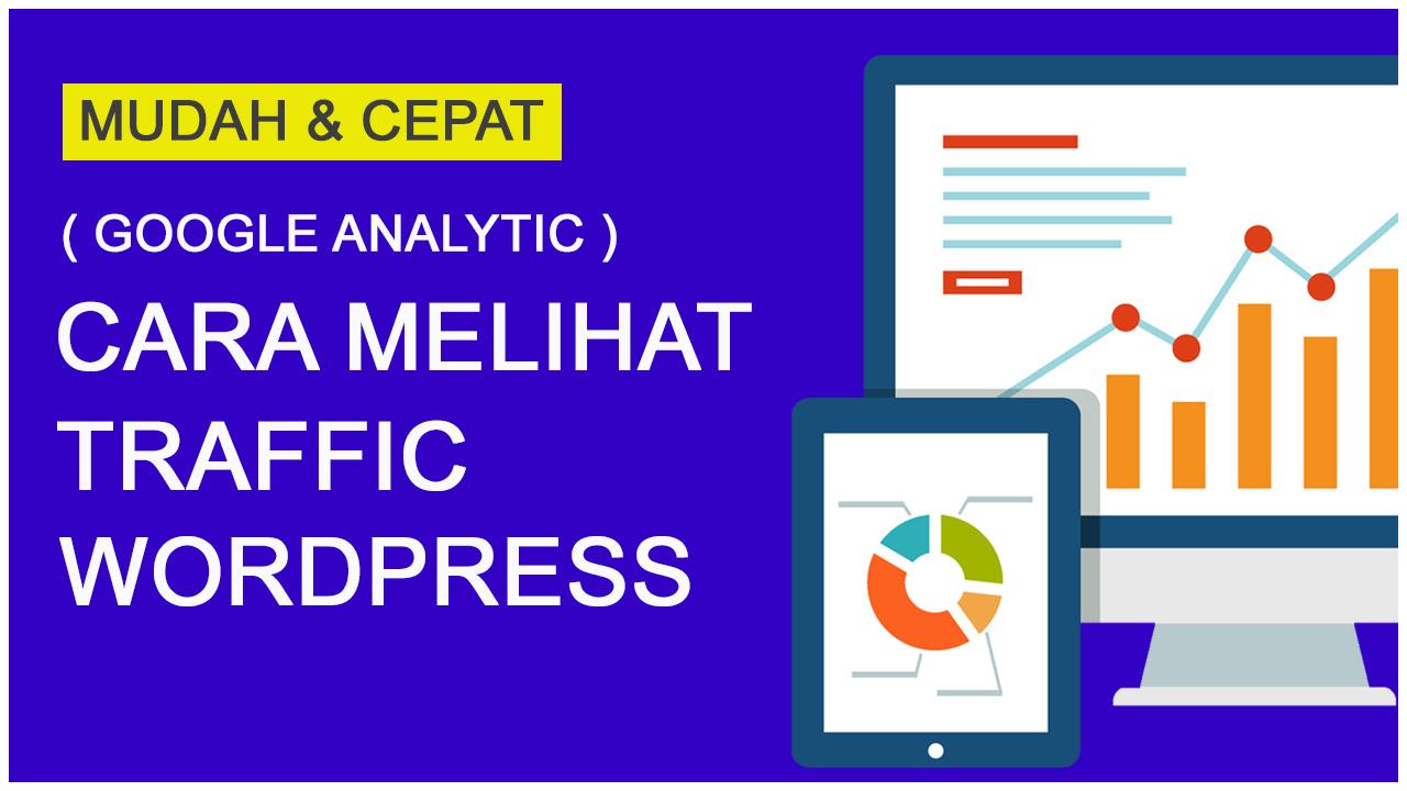 Cara Melihat Traffic Website di WordPress